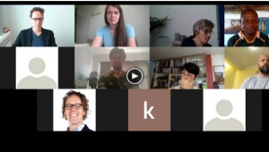 a screenshot from the 3rd day Zoom call of the PBP consultation